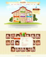 Web design UNESCO Story time by gatisatmixlv