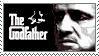 Godfather Marlon Brando Stamp by stampstampede