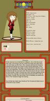 Emilie Desmot Dragon of Thunder Full Ref Sheet by ucccoffee