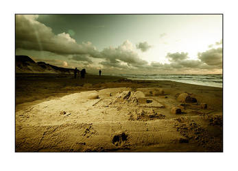 Like Castles in the Sand by raun