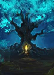 Magic Tree by Niferure