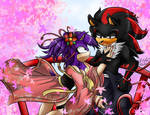 Contest:Together Under the Cherry Trees by Dark4Kuran