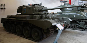 Mittlerer Kampfpanzer Comet A 34 by cailleachdhubh