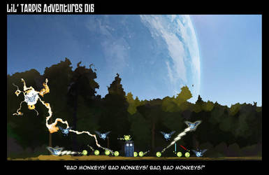 Lil' TARDIS Adventures 016 by DrOfDemonology
