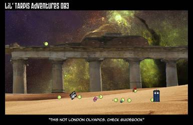 Lil' TARDIS Adventures 083 by DrOfDemonology