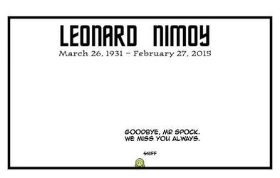 Goodbye Spock by DrOfDemonology