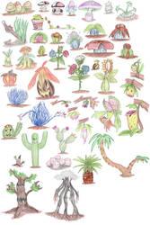 Plant Pokemon by DragonlordRynn
