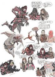 Games Crossovers- Skyrim Mercer by DragonlordRynn