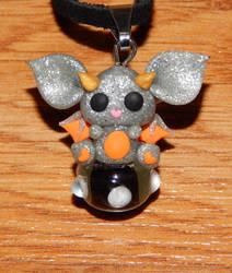 Monster Bat Necklace by XDtheBEASTXD