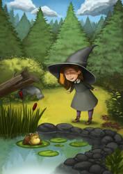 Witchy companion by uppiguppi