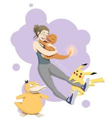 Some Pokemons by uppiguppi