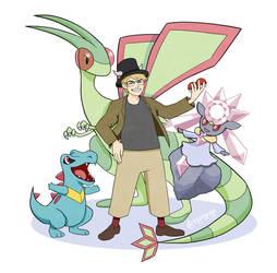 Pokemon trainer by uppiguppi