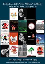 Organ Bagisi Afis tasarimlari by engelliler-disabled