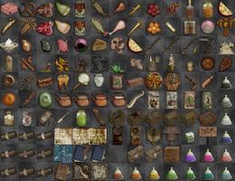 Broken Anachronism Items by 13thMurder