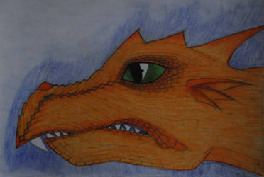 Dragon #1 by WhiteDemonClaw