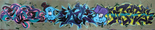 Crazy things wall by SANS-01-2-MHC-BS