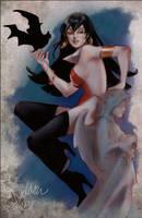 Vampirella Fanart by DelarasArt