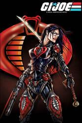 GI JOE Baroness cobra by jamietyndall