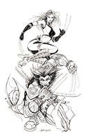X-Men Wolverine X23 X-Force by jamietyndall