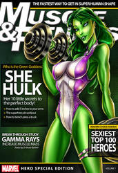 She Hulk by jamietyndall