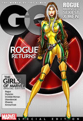 Rogue Cover for GQ by jamietyndall