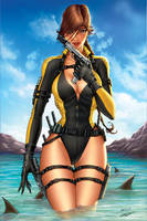 Lara Croft Tomb Raider by jamietyndall