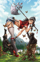 Emerald City Comic Con Exclusive for Zenescope by jamietyndall