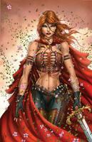 Zenescope's Unleashed #4 - Belinda by jamietyndall
