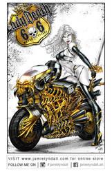 Ladydeath Motorbike by jamietyndall