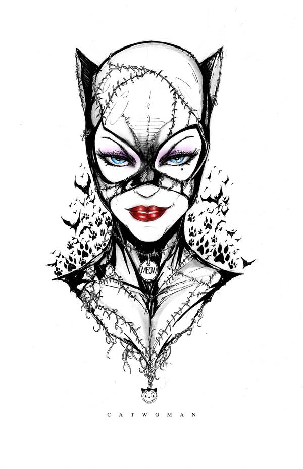 11x17catwoman Profile by jamietyndall