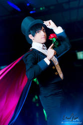 Tuxedo Mask - Sailor Moon by eriolcosplays