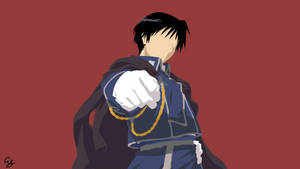 Roy Mustang -  Full Metal Alchemist by ArseySenpai