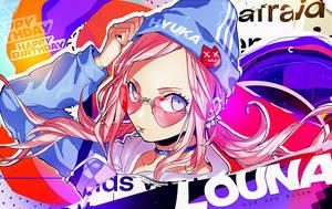 LouNa's Birthday - Our Gfx Queen by Dwayn-KIN