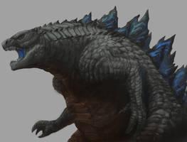 Fatman 2014 (Godzilla) by mitkoogrozev