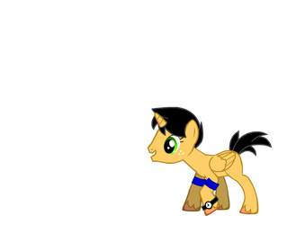 Me as a pony. by f1master45