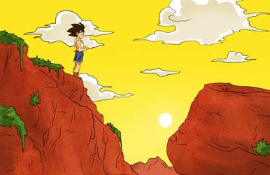 Goku Adventure (yellow) by Oscarnoe