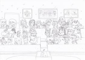 Nice to meet you 2 - DA Classroom by MrNintMan