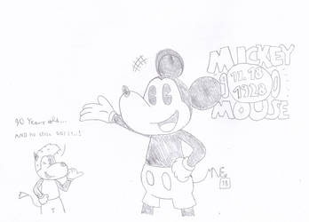 90th Anniversary of Mickey Mouse by MrNintMan