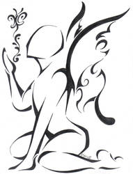 Tribal Fairy by Queran