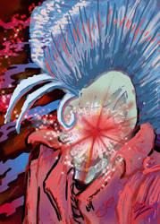 Mohawk Skullman Coverart Chibazato by Chibazato