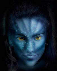 Avatar Girl by Skullbrush