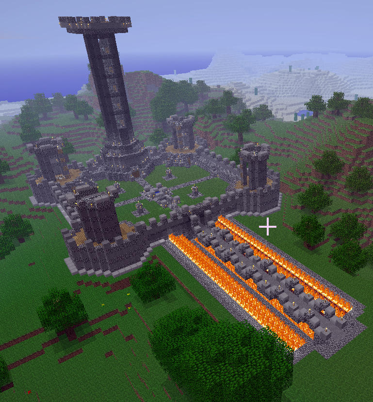 Minecraft Keep By Vander Axis On Deviantart