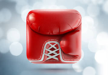 Boxing Glove iOS Icon by Ramotion