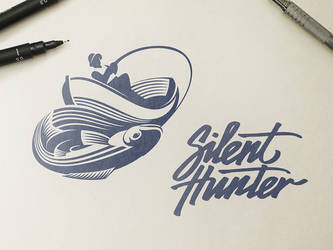 Silent Hunter Logo Design by Ramotion