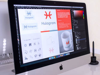 Hulagram App Branding by Ramotion