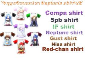 MMD:Hyperdimension shirt+DL by MsYelenaJonas