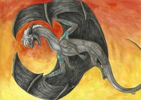 Aerial acrobat by Tir-Goldeness