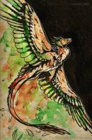 Inktober #1 Swift by Tir-Goldeness