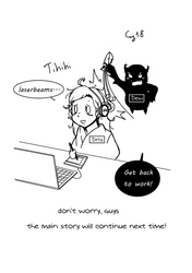 Kami's Assistant chapter 4 just being an idiot by DrizDew