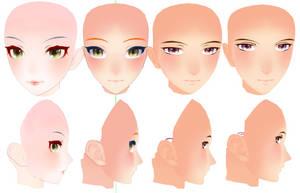 TDA Head Edit Progression by Nintendraw